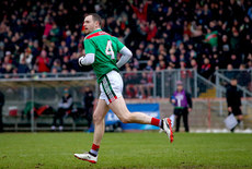 Keith Higgins after scoring a goal 3/2/2019