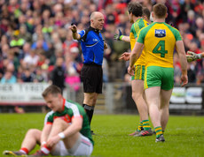 Cormac Reilly awards Mayo a penalty 2/4/2017