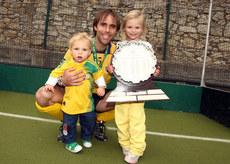 Craig Fulton with his children 16/5/2010