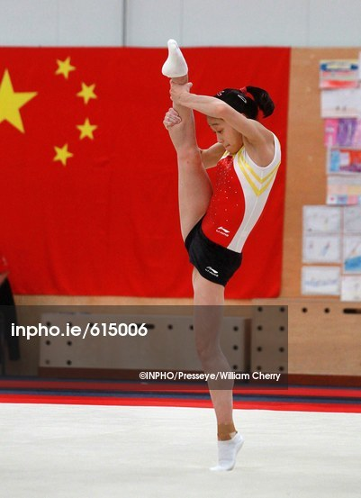 About chinese olympic gymnastics training