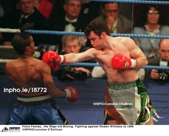 Vince Feeney Vince Feeney the Sligo kid Boxing Fighting agai 18772 Inpho